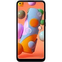 Samsung 三星Galaxy A11(32GB,2GB)6.4英寸双卡GSM解锁,全球4G LTE国际型号(T-Mobile,AT&T,Metro,Cricket)A115M/DS(64GB SD捆绑)a-11  白色