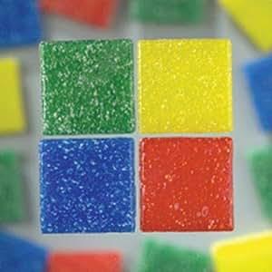MosaixPro 200 g 10 x 10 x 4 mm 302-件玻璃瓷砖,多色
