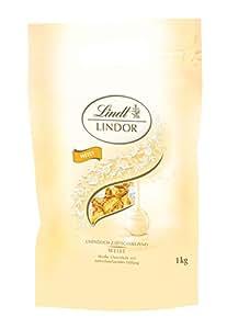 Lindt 瑞士莲 Lindor系列软心巧克力球 白巧克力 81粒,1kg装