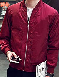 MPSMOVE 思慕夫 2018秋冬款男士韩版简洁外套男修身男装风衣夹克男KW240【10】