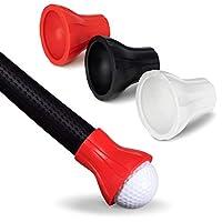 GoSports 高尔夫球拾音器工具 | 3 个装推杆附件球毛器