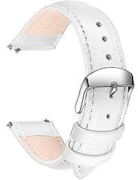 SONGDU Analog 皮革 白色 LB-18-White 表带