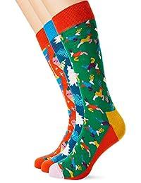 快乐袜歌复古节日礼品盒袜 3 双装