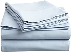 波西米亚家庭系列 1800 支床单套装 4 件套 水绿色 King COMIN18JU003332