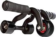 NatuRani(自然)腹肌滾輪 3層空氣吸收器 黑色 NR-2273