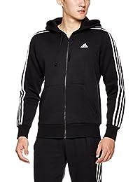 adidas 阿迪达斯 男式 运动型格 针织夹克 ESS 3S FZ B