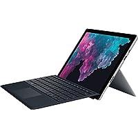 2019 Microsoft Surface Pro 12.3 英寸触摸屏平板电脑电脑,Intel Core m3-7Y30 高达 2.6GHz、4GB 内存、128GB SSD、802.11ac WiFi、蓝牙 4.1、USB 3.0、黑色键盘、Windows 10 Home