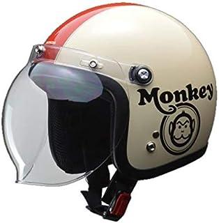 本田 猴子头盔 象牙色/红色 L(59-60厘米以下) 0SHGC-JC1C-WL