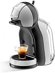 Krups 克鲁伯 KP123B Nescafé Dolce Gusto Mini Me 胶囊咖啡机,1500 瓦,灰色/黑色