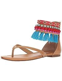 Jessica Simpson 女士 Raquelle 平底凉鞋