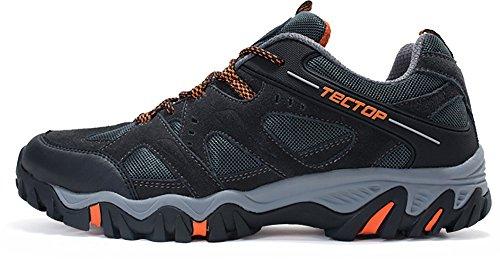 TECTOP 探拓 透气耐磨徒步爬山鞋 户外登山鞋男防滑运动越野鞋