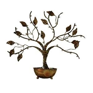 古涂鸦首饰树带碗 大 多色 83212
