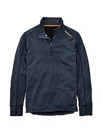 Timberland PRO 男式 1/4 拉链内层羊毛上衣