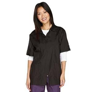 *性能*夹克 - 多功能全能衬衫风格夹克适合专业和业余新郎 - 黑色,S 码 黑色 L