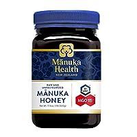 Manuka Health 活性麦卢卡蜂蜜 MGO 100+,1罐装(1 x 500g)