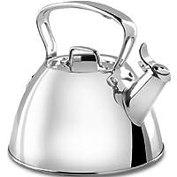 All-Clad E86199 不锈钢专业炊具烧水壶,银色