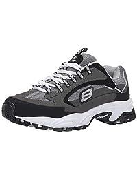 Skechers Stamina Nuovo 男士系带运动鞋