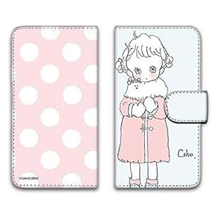 caho 保护套印花翻盖外套与少女手机保护壳翻盖式适用于所有机型  コートと少女B 7_ Huawei honor 8 FRD-AL