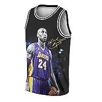 ZHIDAONNU RIP LA Legend 8 24 网眼运动篮球运动衫男式背心