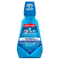 Crest pro- HEALTH multi-protection CPC / antiplaque 漱口水清新薄荷绿