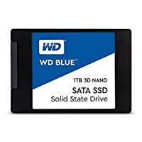 WD Blue Solid State Drive Black, Blue, White 1TB