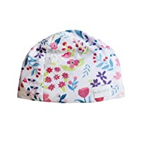 HUSH Hat by HUSH Baby - Sound Absorbing Lightweight Baby Hat - Fits Newborns to Toddlers Aged 2 Purple Poppy X大碼