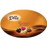 德芙牛奶巧克力和黑巧克力精巧装348g