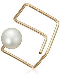 [BLOOM] BLOOM 【单耳用】K14 金色镀膜 方形 耳环(S) ※无耳环 BHE0B0136Q00