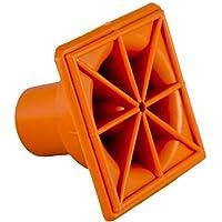 25x Rebar 障碍*帽类型 S - OSHA Square - (10M-25M) Rebar 尺寸:#3-#7(25 包)