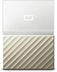 Western Digital 便携式硬盘 My Passport Ultra 4 TB 白色/金色