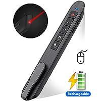 DinoFire 无线演示器 USB Powerpoint 演示搭扣遥控滑梯 Advancer 2.4GHz