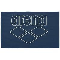 Arena 男女通用超细纤维泳池智能毛巾,*蓝白色,均码