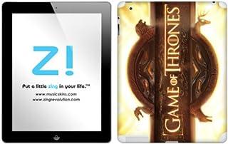 Zing Revolution Game of Thrones Premium Vinyl Adhesive Skin for iPad 2/ iPad, Logo Image, MS-GOT110351