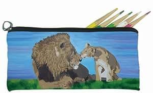 小号铅笔袋软眼眼镜保护套–from MY 画动物–非常适合儿童 OF 所有年龄段