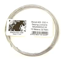 SCS-Tool Monel 400 Annealed .032 Seizing Lockwire 10 米(32 英尺)