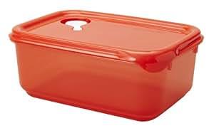 Starmaid Fresh Seal Food Storage Container, 1.5-Quart, Tangerine Tint