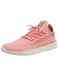 adidas 男士 PW HU 网球鞋