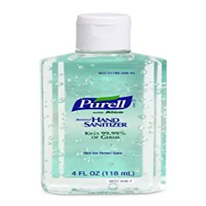 MCK96312701 - Hand Sanitizer with Aloe Purell Alcohol (Ethyl) Gel Bottle