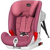 碧然德丝·蕾玛 【日本正品·有无偿更换*】 儿童*座椅 高级III SICT *红玫瑰 9个月~12岁左右适用 长期使用 ISOFIX&顶端固定 ADVANSAFIX BRX30369
