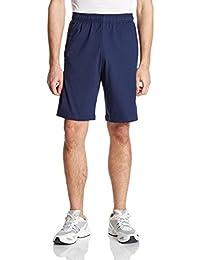 adidas 阿迪达斯 男式 运动型格 针织短裤 ESS LIN SHOR SJ