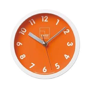 Lemnos Kitchen clock オレンジ T1-025 OG