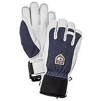 Hestra 滑雪军皮巡逻队冬季冬季冬季冬季冬季手套 黑色 12