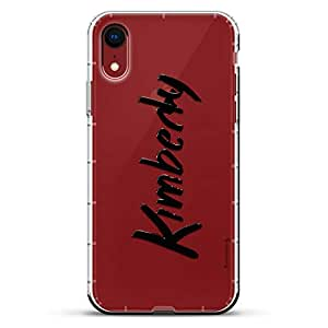 Luxendary Air 系列透明硅胶外壳LUX-I9AIR-NMKIMBERLY1 NAME: KIMBERLY, HAND-WRITTEN STYLE 透明