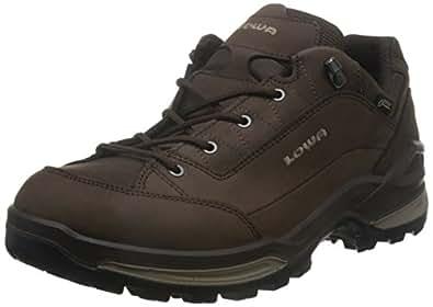 LOWA 多功能户外系列 男 户外运动靴RENEGADE GTX男式低帮鞋  L3109634211 咖啡色/米黄色 40