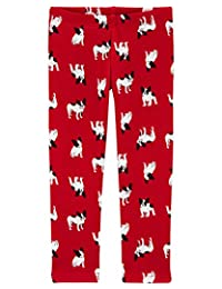 Carter's 法国斗牛犬舒适羊毛打底裤 9 个月 红色