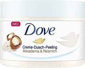 Dove 多芬 沐浴磨砂膏含澳洲坚果和米浆成分 4件装(4 x 225毫升)