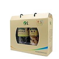 """中粮山萃""""食用菌""""山珍 礼盒(双筒)200g"""