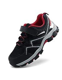 brooman 儿童户外徒步鞋男孩女孩跑步鞋运动鞋