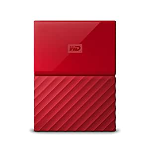 WD 4TB Red USB 3.0 My Passport Portable External Hard Drive (WDBYFT0040BRD-WESN)