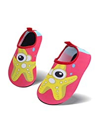 vivay 男式女式快干水鞋浅绿色短袜赤脚游泳 SHOES for 海滩 yoga 冲浪水 aerobics